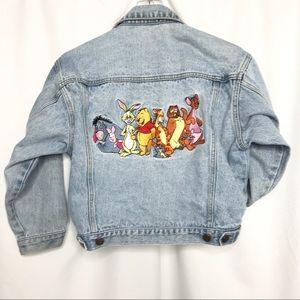 Disney Jackets & Coats - 90's Disney Winnie The Pooh Friends Jean Jacket